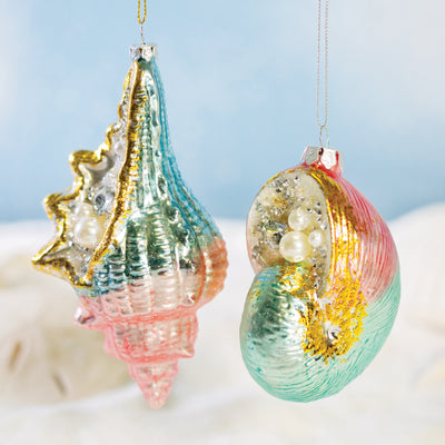 Seashell Ornaments Set
