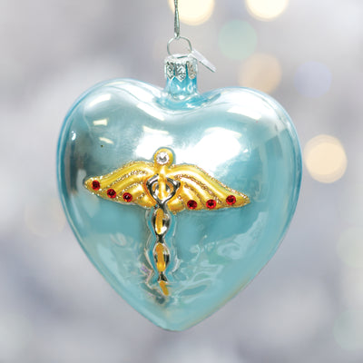 Medical Heart Ornament