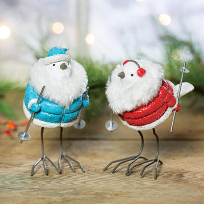 Birds In Coats Set