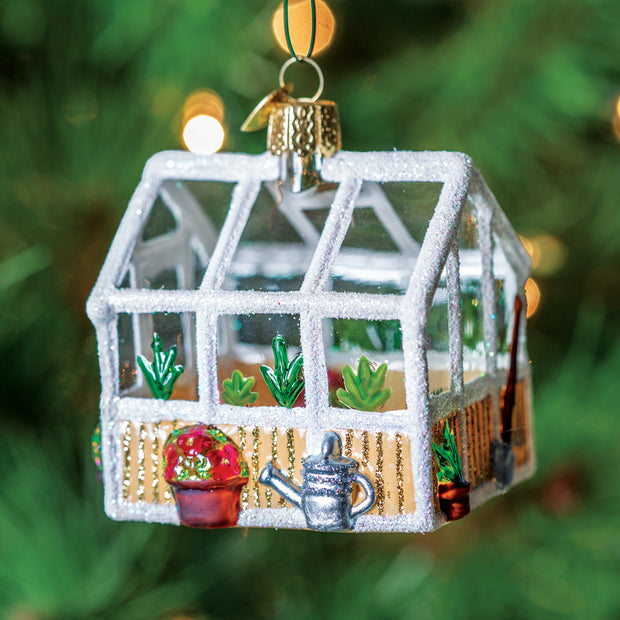 Greenhouse Ornament