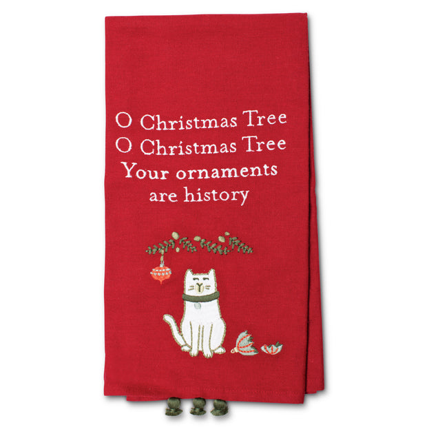 Ornaments Dish Towel