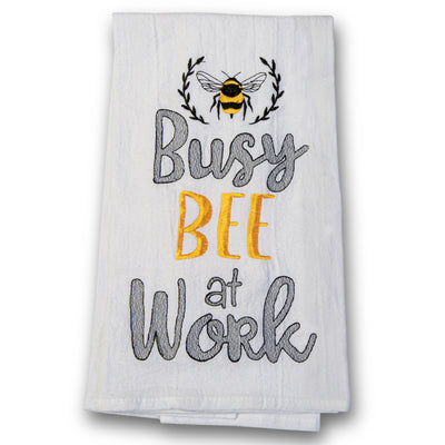 Busy Bee at Work Towel