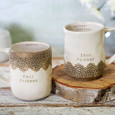 True Friends Hug Mugs