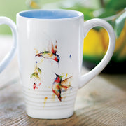 Summer Hummingbirds Latte Mug