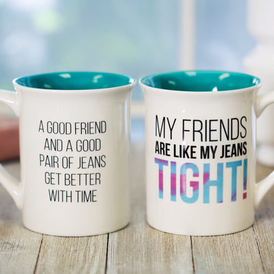 Friendship Jeans Tight Mug
