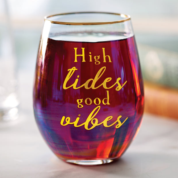 Vibes Stemless Wine Glass