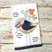 Wind To Your Wings Tea Towel