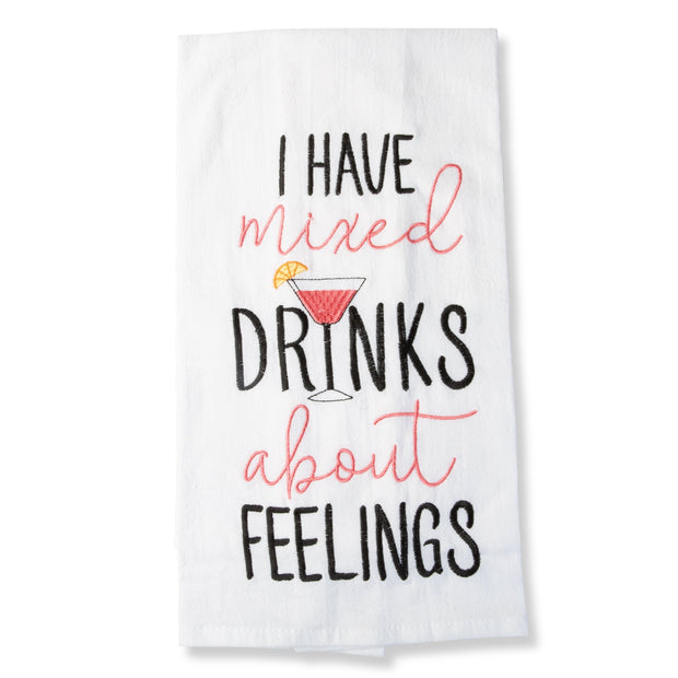 Mixed Drinks Tea Towel