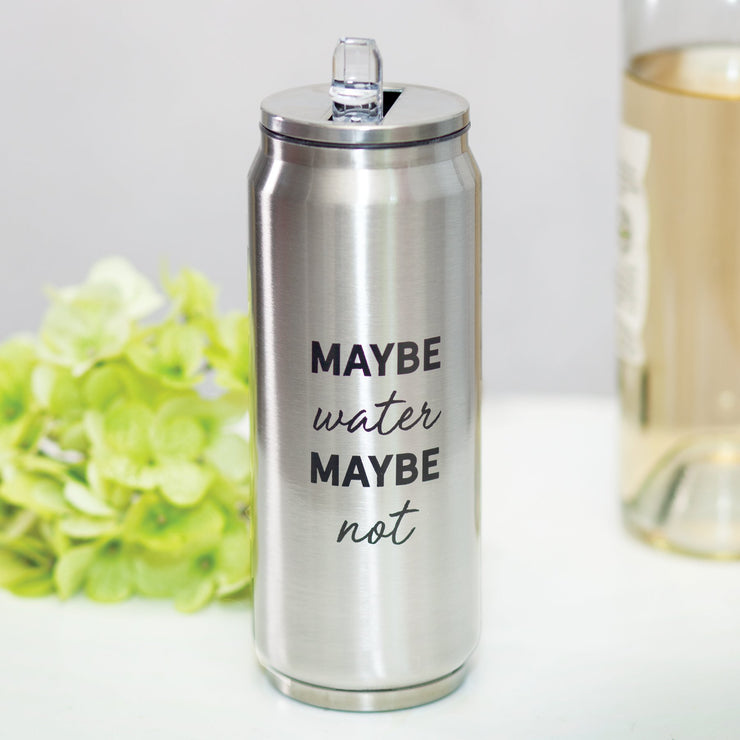 Maybe Water Stainless Steel Can