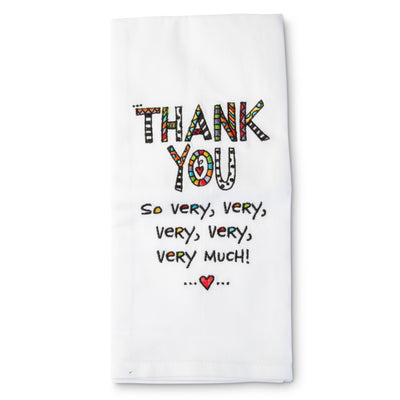 Thank You Tea Towel