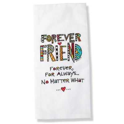 Forever Friends Tea Towel