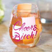 Lolita Cheers Bitch Wine Glass