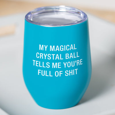 Crystal Ball Wine Tumbler