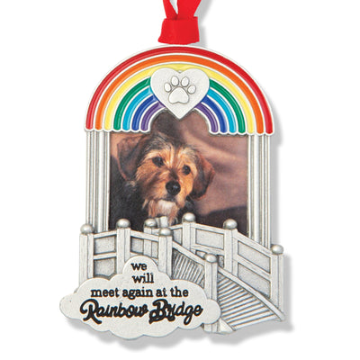Rainbow Bridge Photo Ornament