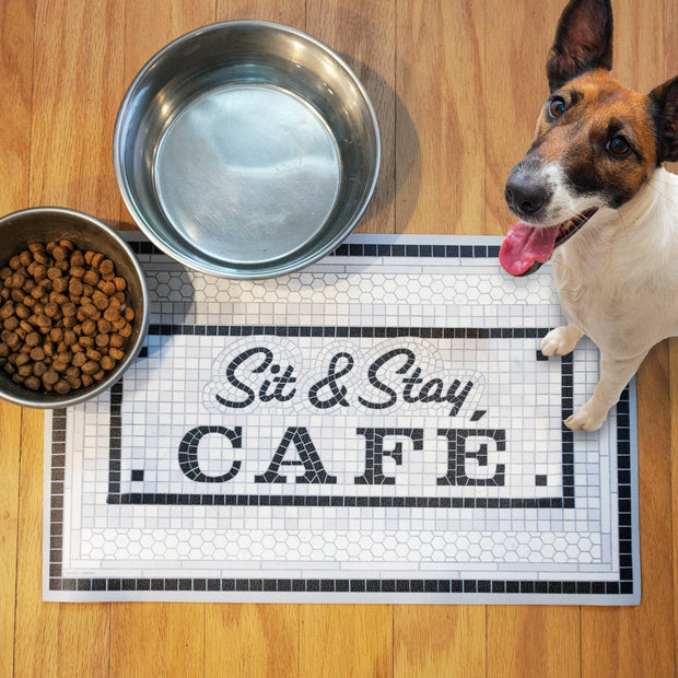 Sit and Stay Cafe Placemat