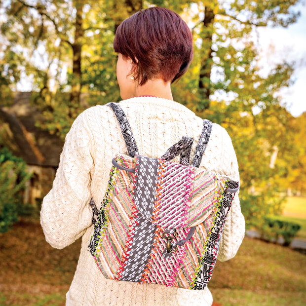 Your Journey Multicolor Backpack
