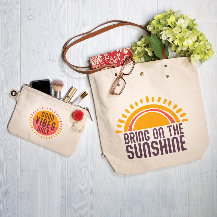 Bring on the sun tote and bag set