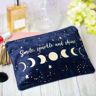 Smile, Sparkle, and Shine Pouch
