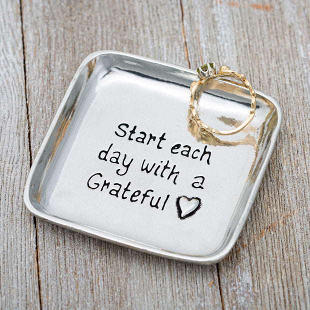 Grateful Heart Charm Bowl