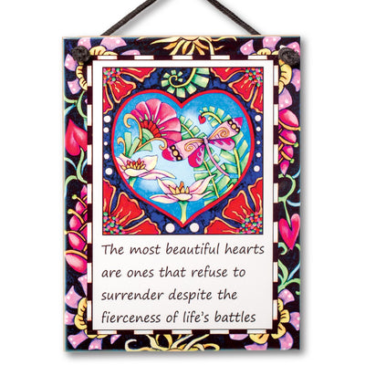 Beautiful Hearts Plaque