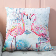 Jewels of the Sea Pillows: Flamingo