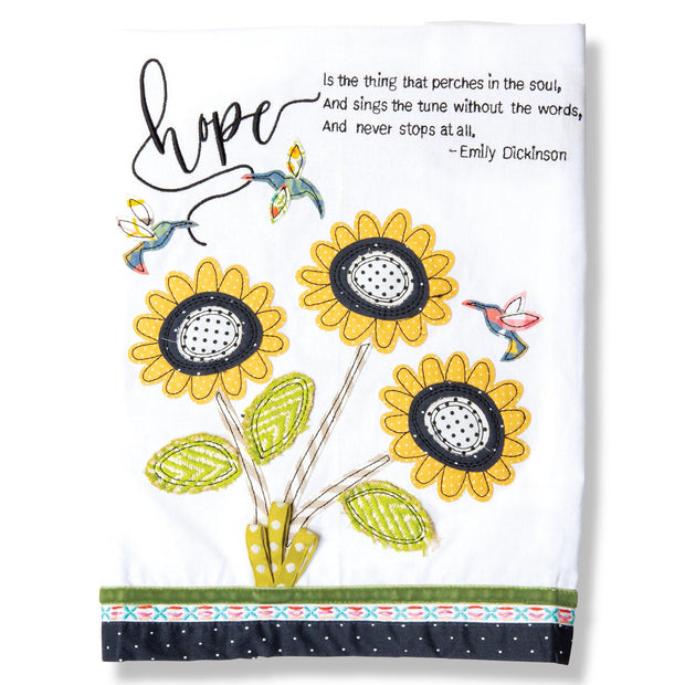 Hope is the Thing Tea Towel