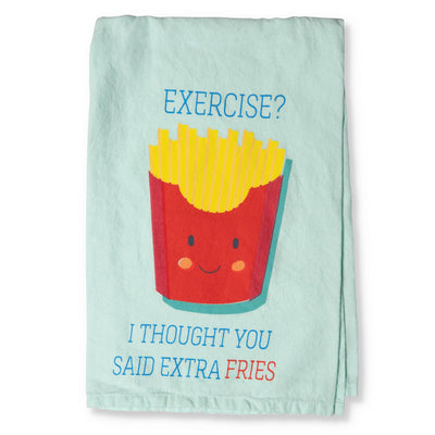 Exercise Tea Towel