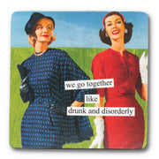 Anne Taintor Drinking Pals Magnet Set