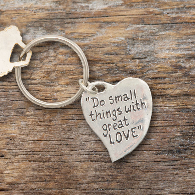 Do Small Things Keychain