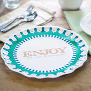 Enjoy Un-Giving Plate