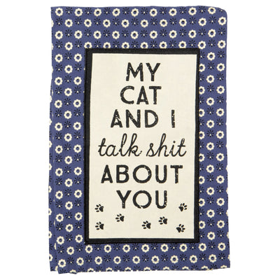 My Cat Talk Shit Towel