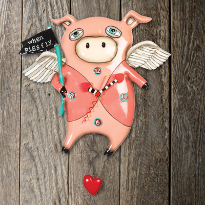 Pigs Fly Clock
