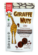 Load image into Gallery viewer, Giraffe Nuts 30mg Caramels