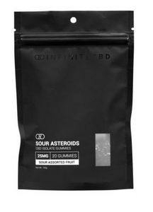 Infinite CBD Sour Asteroids