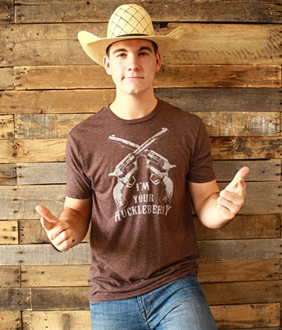 I'm Your Huckleberry Tee - Ny Texas Style Boutique
