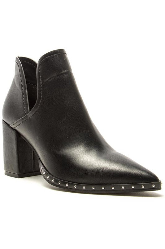 The Vienna Black Booties - Ny Texas Style Boutique