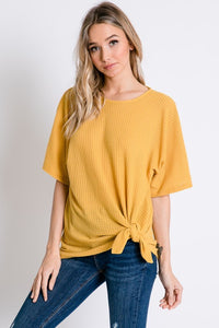 The Mesquite Mustard Top - Ny Texas Style Boutique