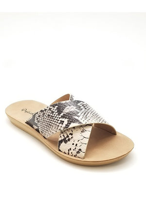 The SnakeSkin Sandal - Ny Texas Style Boutique