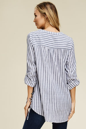 The Sonny Stripe Top - Ny Texas Style Boutique