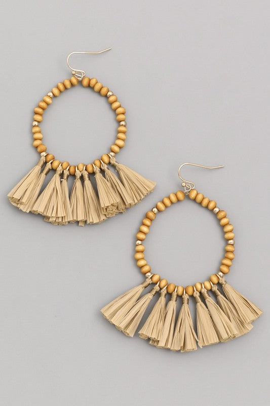 The Tiki Earrings - Ny Texas Style Boutique