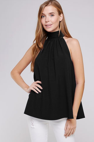 The Marilyn Black Top - Ny Texas Style Boutique