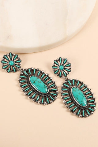 The Punchy Pam Earrings - Ny Texas Style Boutique