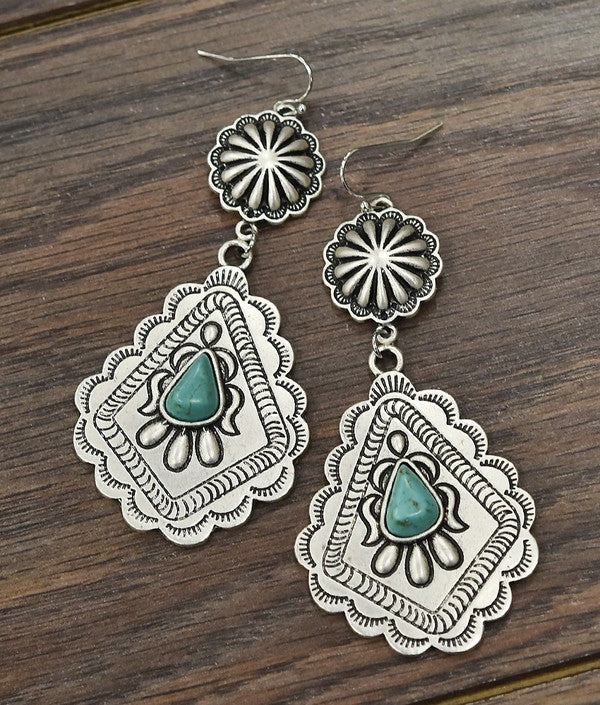 The Malakoff Earrings - Ny Texas Style Boutique