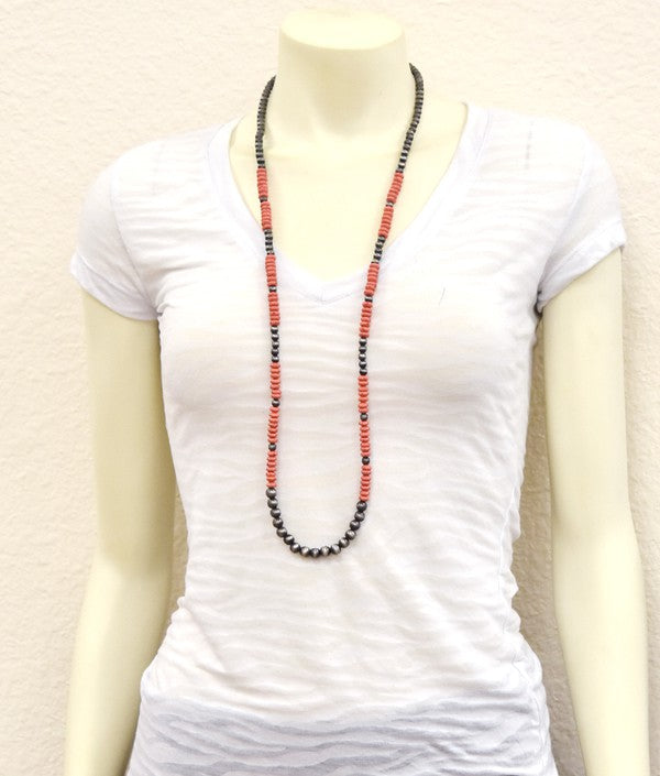 The Dreamsicle Necklace - Ny Texas Style Boutique