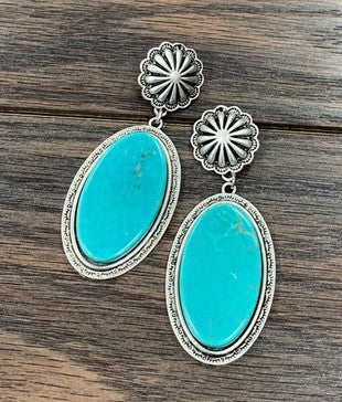 The Longmire Earrings - Ny Texas Style Boutique