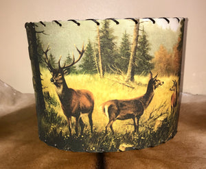 Deer Lampshade - Ny Texas Style Boutique