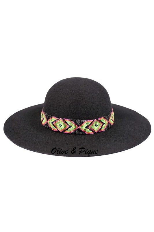 Ode To Billie Joe Black Felt Hat - Ny Texas Style Boutique
