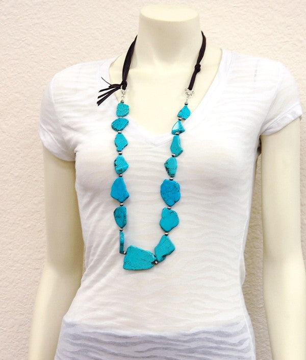 The Ragweed Necklace - Ny Texas Style Boutique
