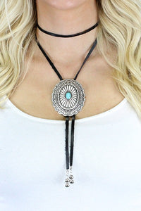 The Black and Turquoise Bolo - Ny Texas Style Boutique