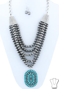 The Coal Necklace - Ny Texas Style Boutique
